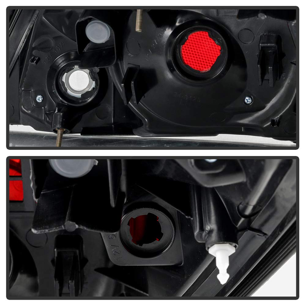 For 2007-2012 Nissan Altima 4-Door Sedan Tail Light Rear Brake Lamp Assembly Replacement Left Driver Side ACANII