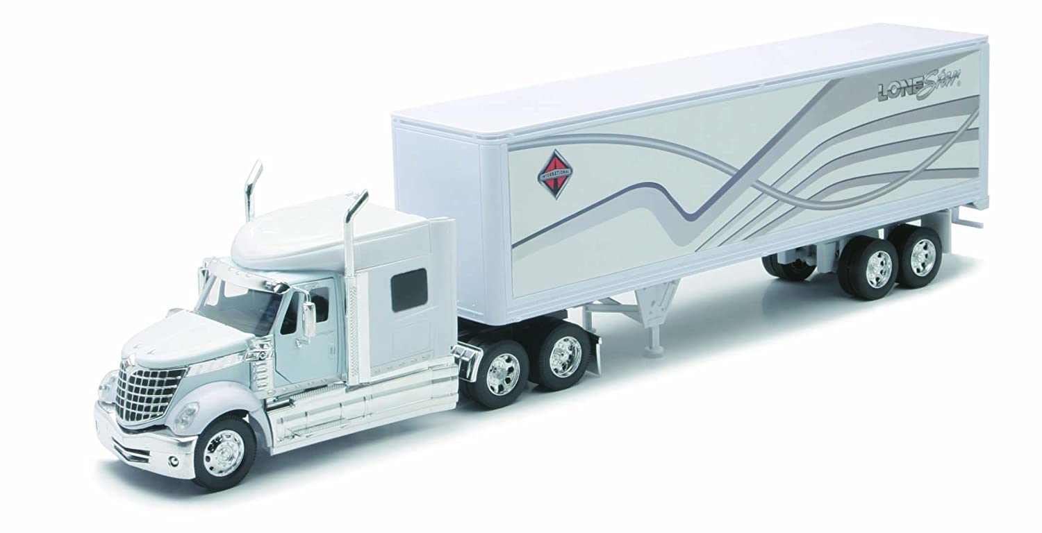 International Lonestar With Container NewRay Diecast 1:32