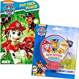 Paw Patrol Night Light and Board Book (Paw Patrol Bedtime Set)