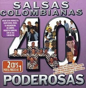40 Salsas Colombianas Poderosas