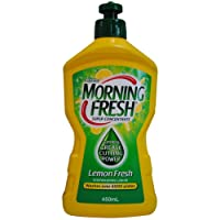 12 x MORNING FRESH 450mL DISHWASHING LIQUID LEMON FRESH SUPER CONCENTRATE