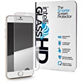 iPhone 7 intelliGLASS HD The Smarter Glass Screen Protector by intelliARMOR To Guard Against Scratches and Drops. HD Clear With Max Touchscreen Accuracy.