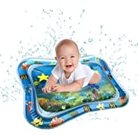 Inflatable Tummy Time Water Play Mat, Comfortable Baby Tummy Time Mat Toys The Perfect Fun Time Play Activity Center Your Baby's Stimulation Growth for Infants & Toddlers