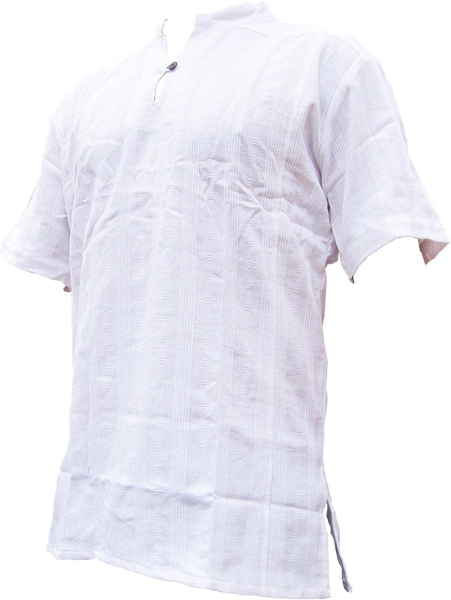 M Panasiam FISC Herman Camicia L o XL in 100/% genuino freshrunk cotone