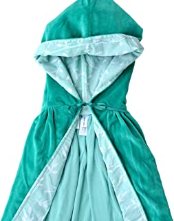 product image for Classic Cloaks, Velour, 35'', Teal Leaves