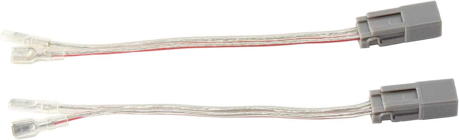RED WOLF Car Front Dash Tweeter Install Wire Harness Connector Replacement for Honda 1999-2004 Odyssey 2003-2008 Pilot Acura 2001-2009 MDX