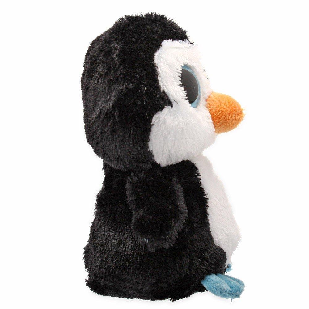 Ty 36008 Beanie Boos Waddles - Peluche de pingüino [Importado de Alemania] pajaros