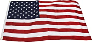 product image for Eder Flag – Poly-Max Outdoor U.S. Flag - Proudly Made in The USA - Extremely Durable - Reinforced Fly Stitching - Heavy-Duty Duck Cloth Headers - Quality Craftsmanship (6x10 Foot)