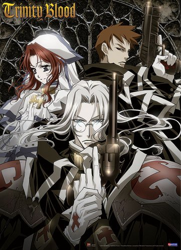 (Great Eastern Entertainment Trinity Blood Esther Abel Gunslinger Wall Scroll, 33 by 44-Inch)