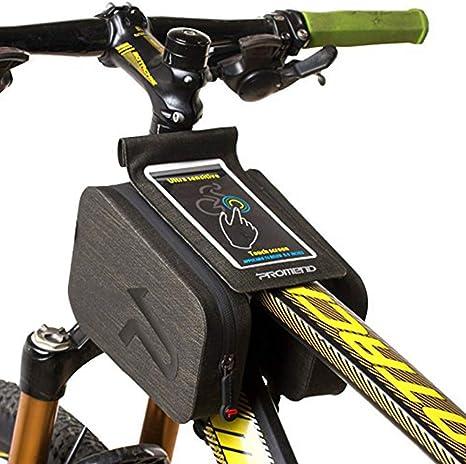 LieYuSport Bolsa Bici,6 Pulgadas Impermeable Pantalla Táctil MTB ...