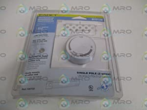 Heater Mounted Thermostat, 1 Pole, 25A