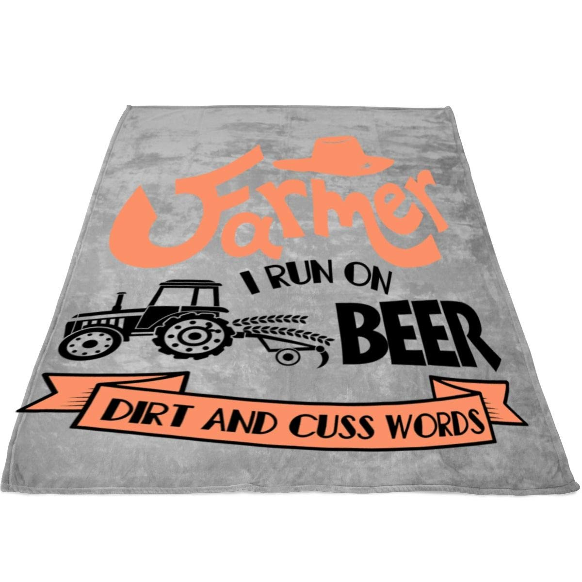 Amazon.com: OAKSTORE Dirt and Cuss Words Blankets - Perfect ...