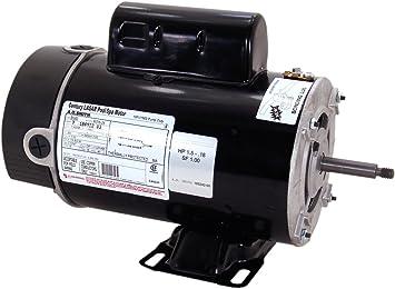 Pump Motor,2 HP,3450,230 V,48Y,ODP CENTURY USQ1202