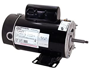 A.O. Smith BN61 2 HP-1/4 HP, 3450/1725 RPM, 2 Speed, 230 Volts, 48Y Frame, PSC, ODP Enclosure, Rigid Base Pool Motor