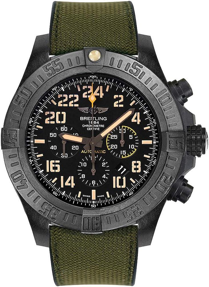 Breitling Avenger huracán Militar Reloj de Hombre Automático xb12101a/bf46–283s