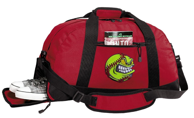 Softball Duffle Bags - Softball Gym Bag w/ SHOE POCKETS