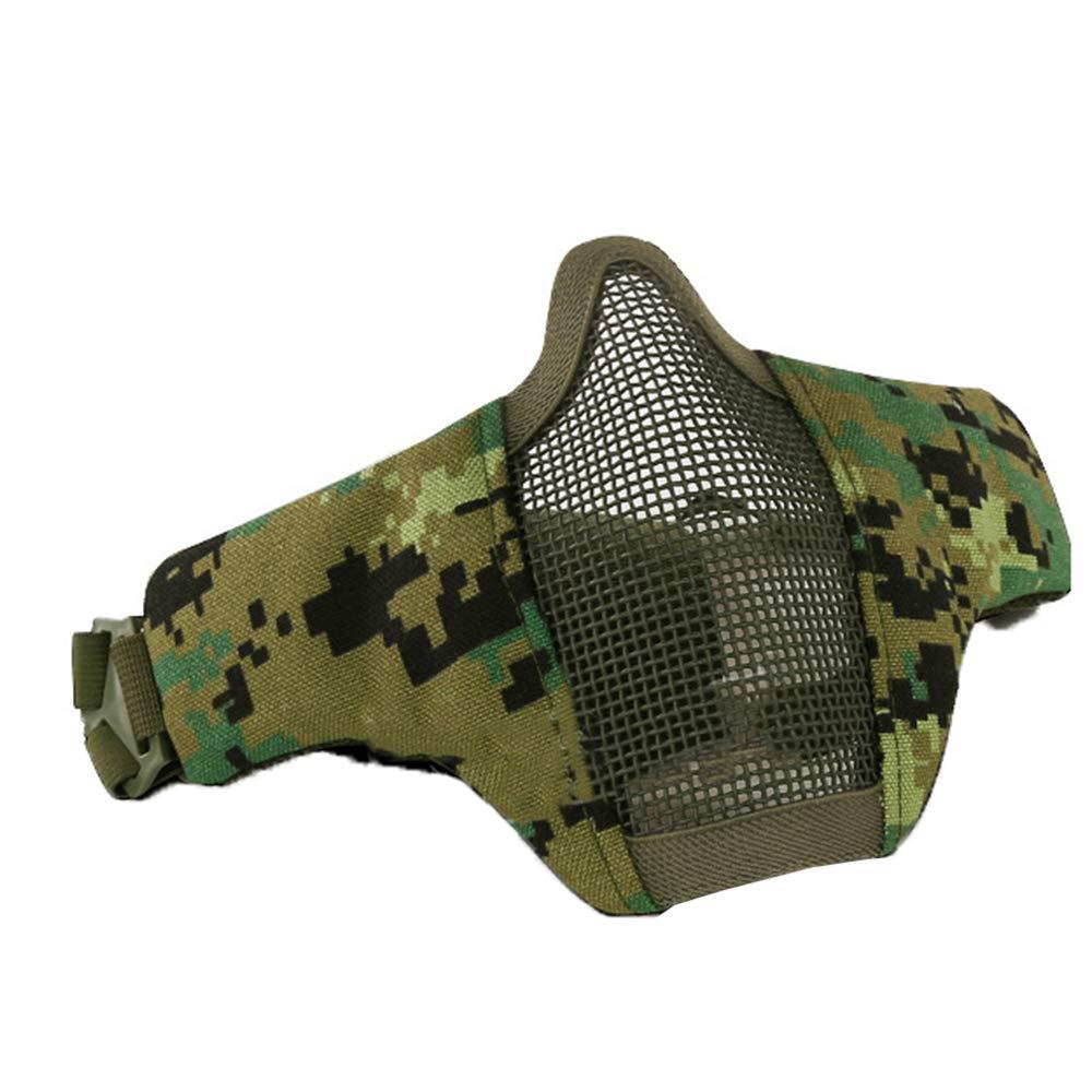 ZED- Komfortable Einstellbare untere Gesichtsschutz-Halbmaske Faltbare Netzmaske