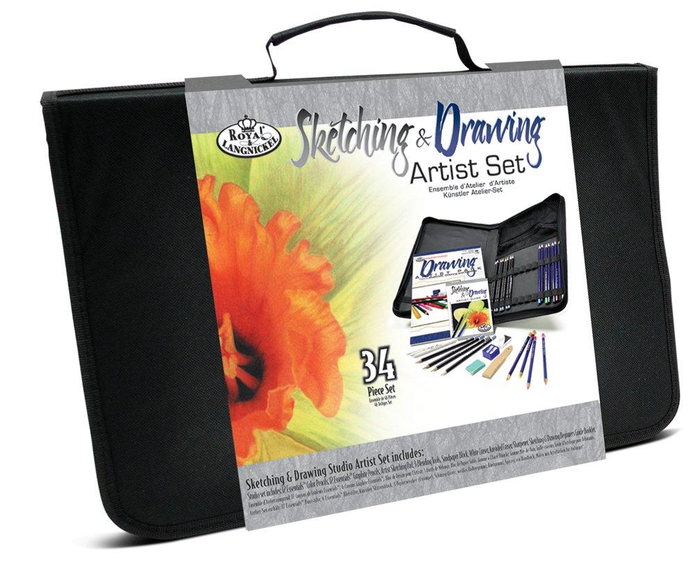 Royal & Langnickel Sketching and Drawing Studio Artist Set