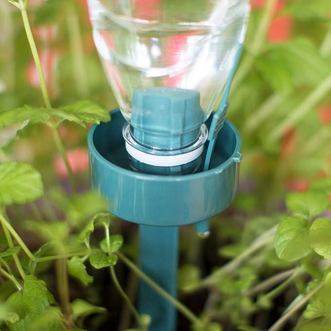 JingHai 2 Unidades de riego por Goteo automático Auto riego Dispositivo Planta Flor por Goteo aspersor riego Botella Sistema de riego Herramienta de jardín: ...