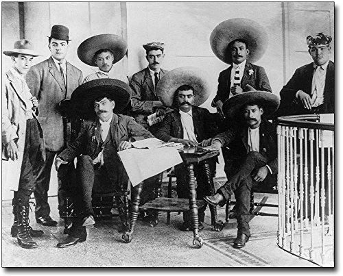 Mexican Revolution Poster (Emiliano Zapata Mexican Revolution Mexico 8x10 Silver Halide Photo Print)
