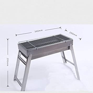 SK-CLDS Parrilla Plegable-Mesa de Barbacoa de carbón ...