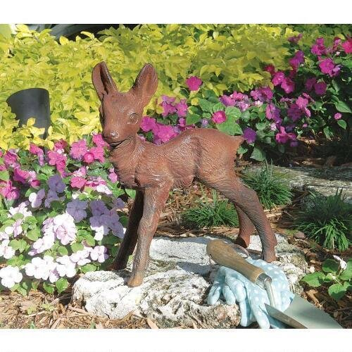 Outdoor Lighted Deer Sculpture - 9