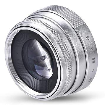 Mugast Mini Lente de cámara de Enfoque Manual, Lente CCTV de Gran ...