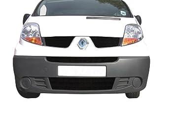 Zunsport Renault Trafic - Juego de rejilla delantera - acabado negro (2006 - 2014): Amazon.es: Coche y moto