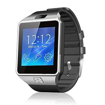 Netspower nuevo diseño DZ09 Bluetooth reloj inteligente pulsera del abrigo reloj teléfono para Smartphone Android Samsung