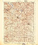 YellowMaps Barrington IL topo map, 1:62500