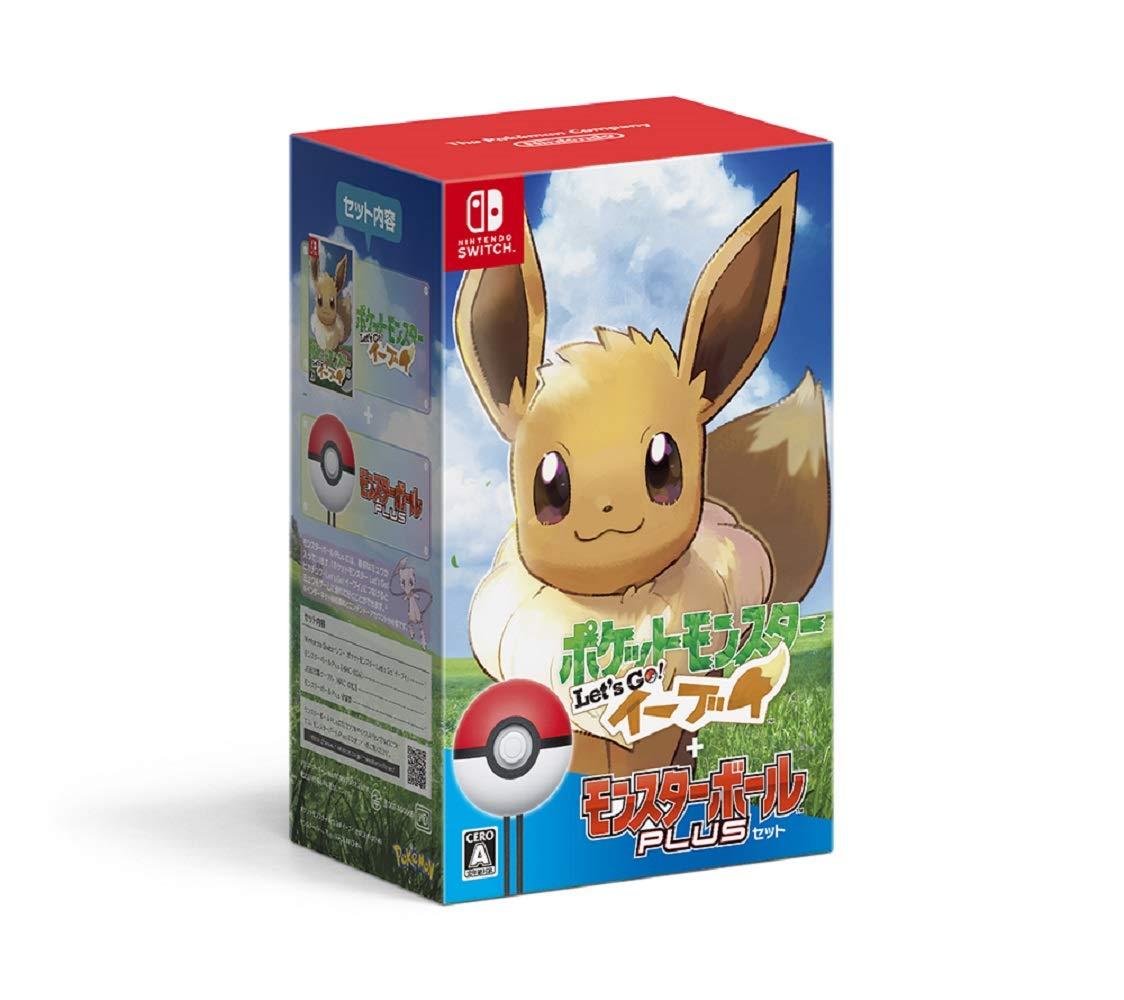 Pokémon Let's Go! Eevee + Poké Ball Plus Set - Switch Japan Import