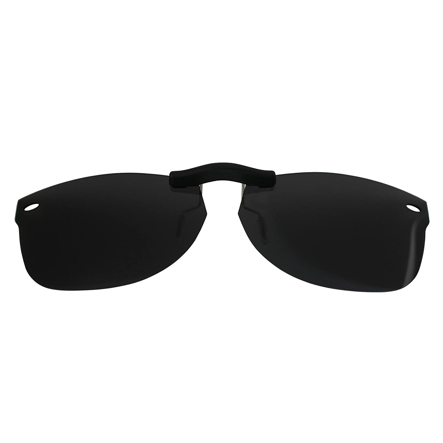 209ed03e6634 Custom Polarized Clip On Sunglasses for Ray-Ban RB5184 (RX5184)  50-18-145(No Frame) Black - - Amazon.com