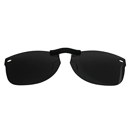 72db7cbe12 Image Unavailable. Image not available for. Color  Custom Polarized Clip On  Sunglasses for Ray-Ban ...
