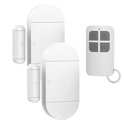 Door Window Pool Alarm with Remote Control,2Pack 130dB Wireless Magnetic Sensor Anti-Theft Door Alarms for Kids Safety Home Store Garage Apartment Business Security: Camera & Photo [5Bkhe1903081]