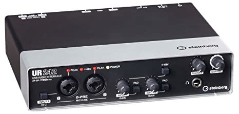 Steinberg UR242 USB Audio Interface - Conversor de audio