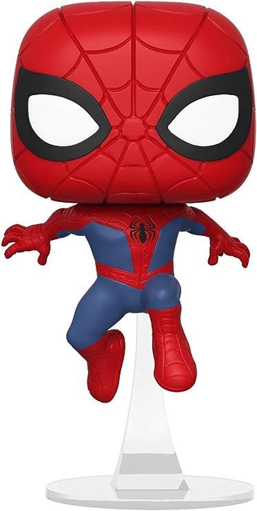 Multicolor 33977 Funko Pop Marvel Animated Spider-Man Movie Miles Morales Spider-Man Collectible Figure
