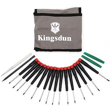 kingdun precisión Destornillador Establece Completa Profesional Kit ...