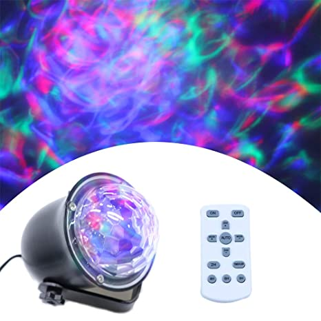 Amazon.com: Proyector de luces láser de onda de agua – luces ...