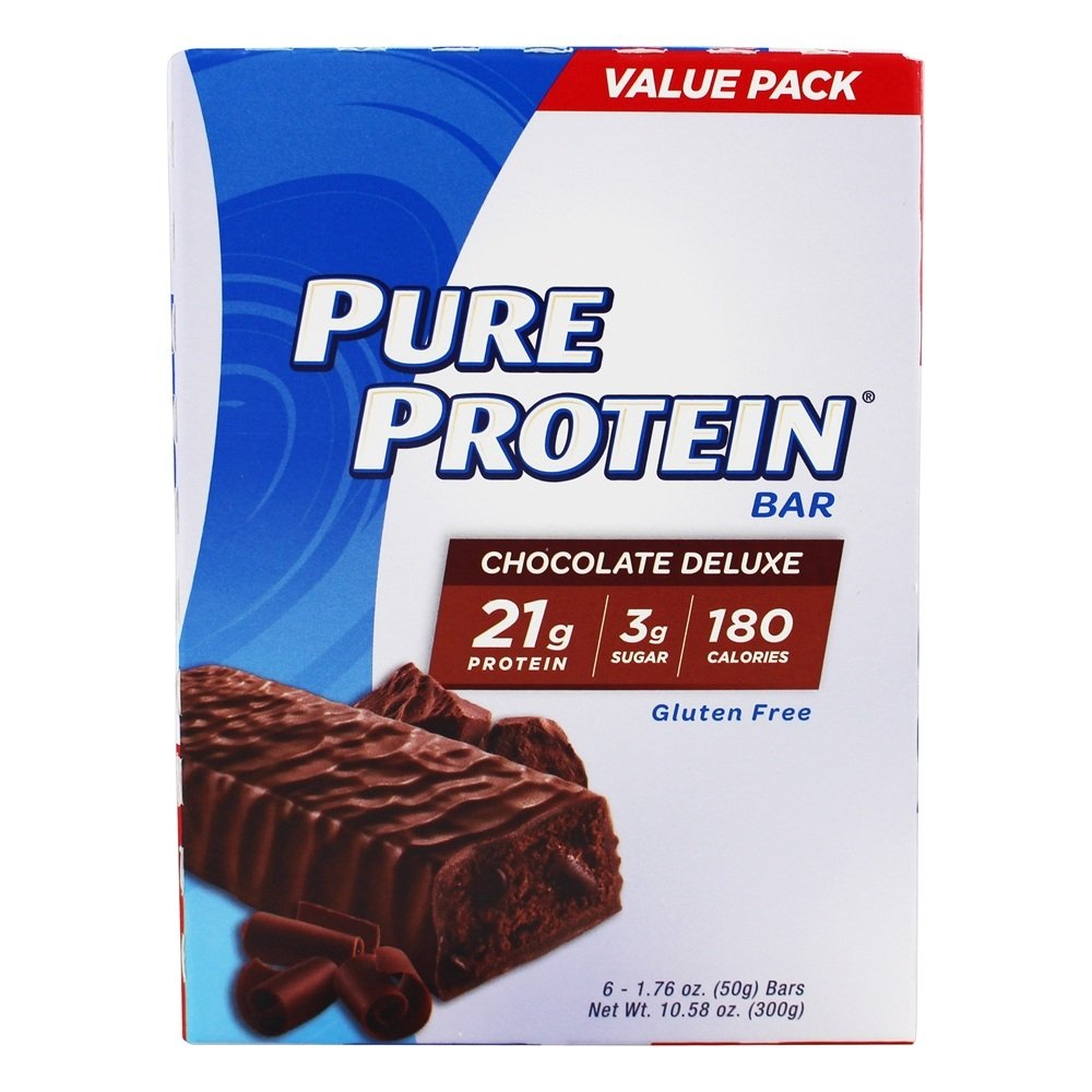 Pure Protein Chocolate Deluxe 50 Value B0060X4N8Q Pack,6 Count Gram 50 Gram Bars by Pure Protein B0060X4N8Q, ハーブティー&アロマ専門店ユーン:9d446f53 --- ijpba.info