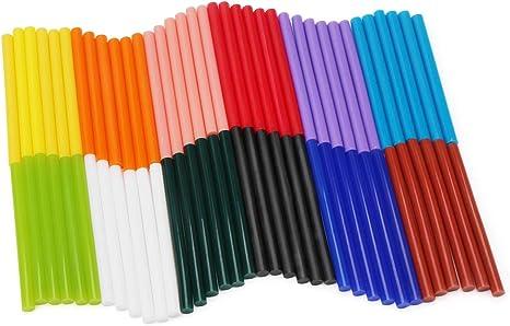 10Pcs 7*100mm Hot Melt Glue Sticks Black EVA Hot Glue Gun Sticks DIY Art Craft