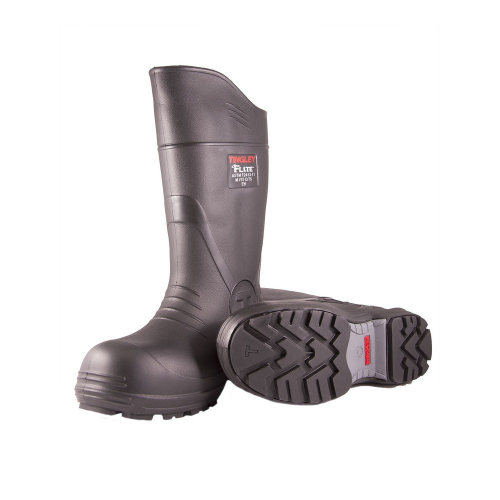 TINGLEY 27251.13 27251 SZ13 Footwear: Boots-Rubber Safety Toe, 13 Black by TINGLEY (Image #2)