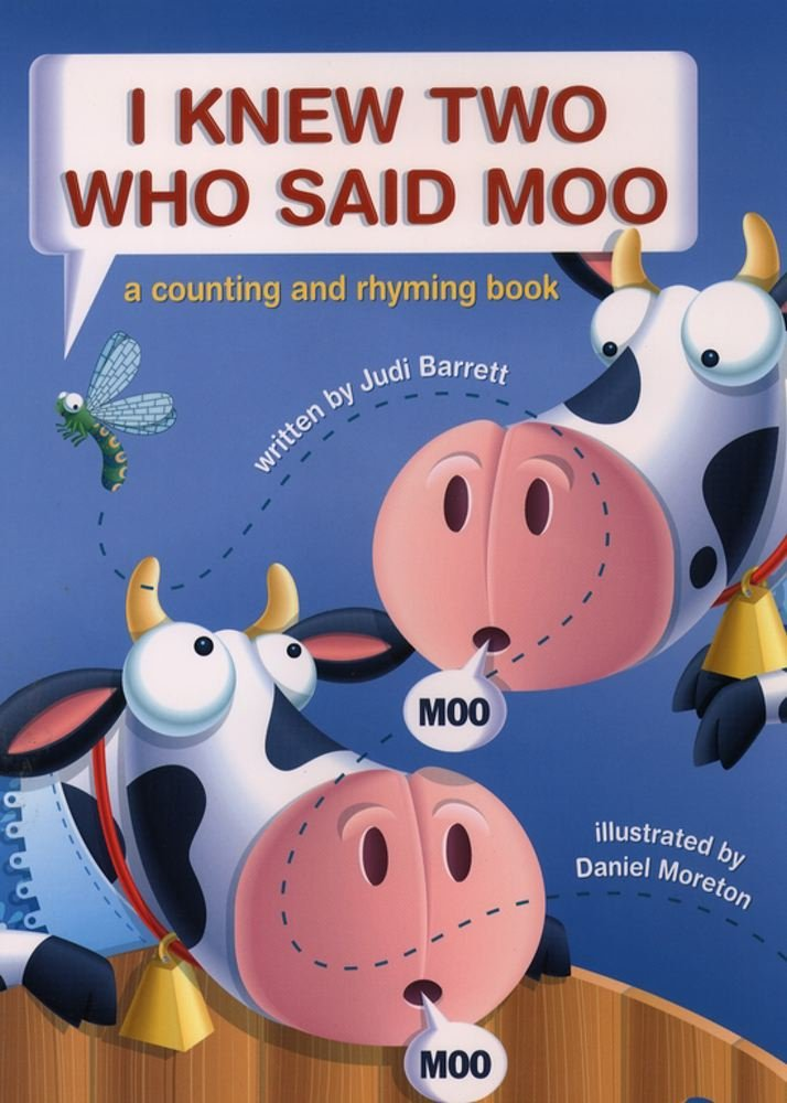 I Knew Two Who Said Moo: A Counting and Rhyming Book pdf