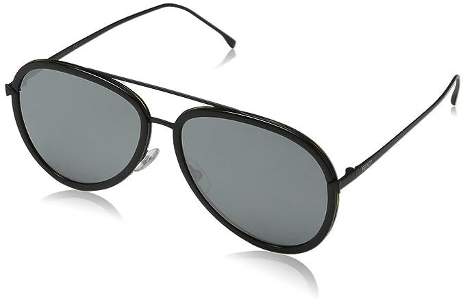 Fendi FF 0155/S T4 0DX, Gafas de Sol para Mujer, Negro ...