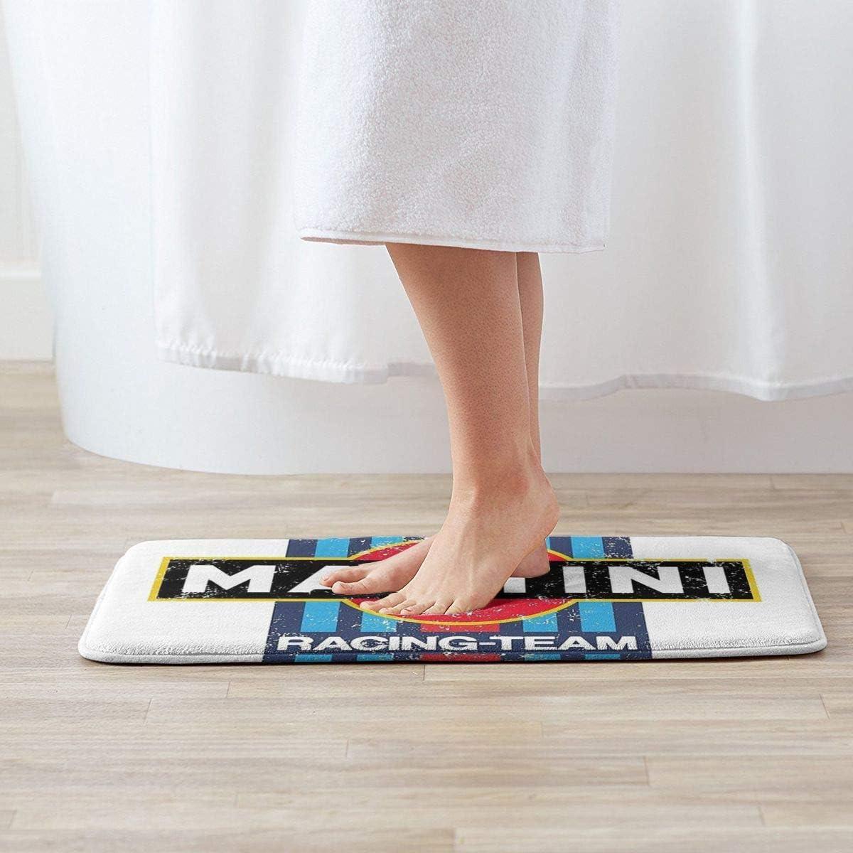 BLSYP Tappetino da Bagno Martini Racing Antiscivolo tappeti di Benvenuto da 19.531,5 Pollici tappeti Lavabili per tappeti da Cucina