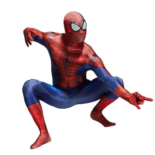 PIAOL Estampado En 3D Estéreo Traje De Spiderman Halloween Adulto ...