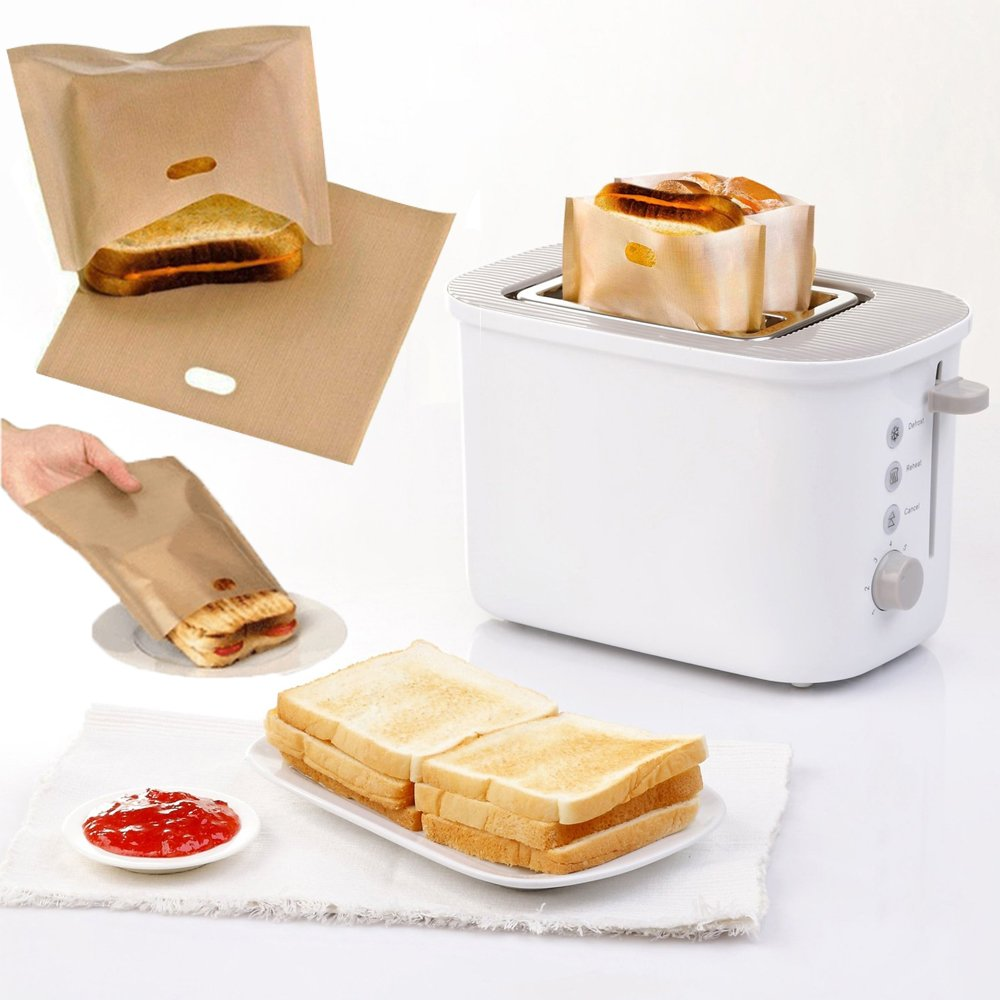 Fancy Homey Reusable Toaster Bag (5 PCS)