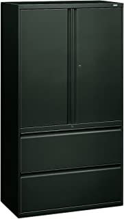 product image for HON 885LSS 800 Series 36 by 19-1/4-Inch Lateral File with Storage Cabinet, Charcoal