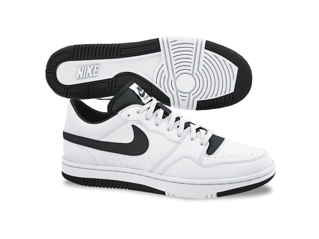 separation shoes 937ad 03ea5 Amazon.com  Nike Court Force Low (White Black) Men s Shoes (White Black)   Shoes