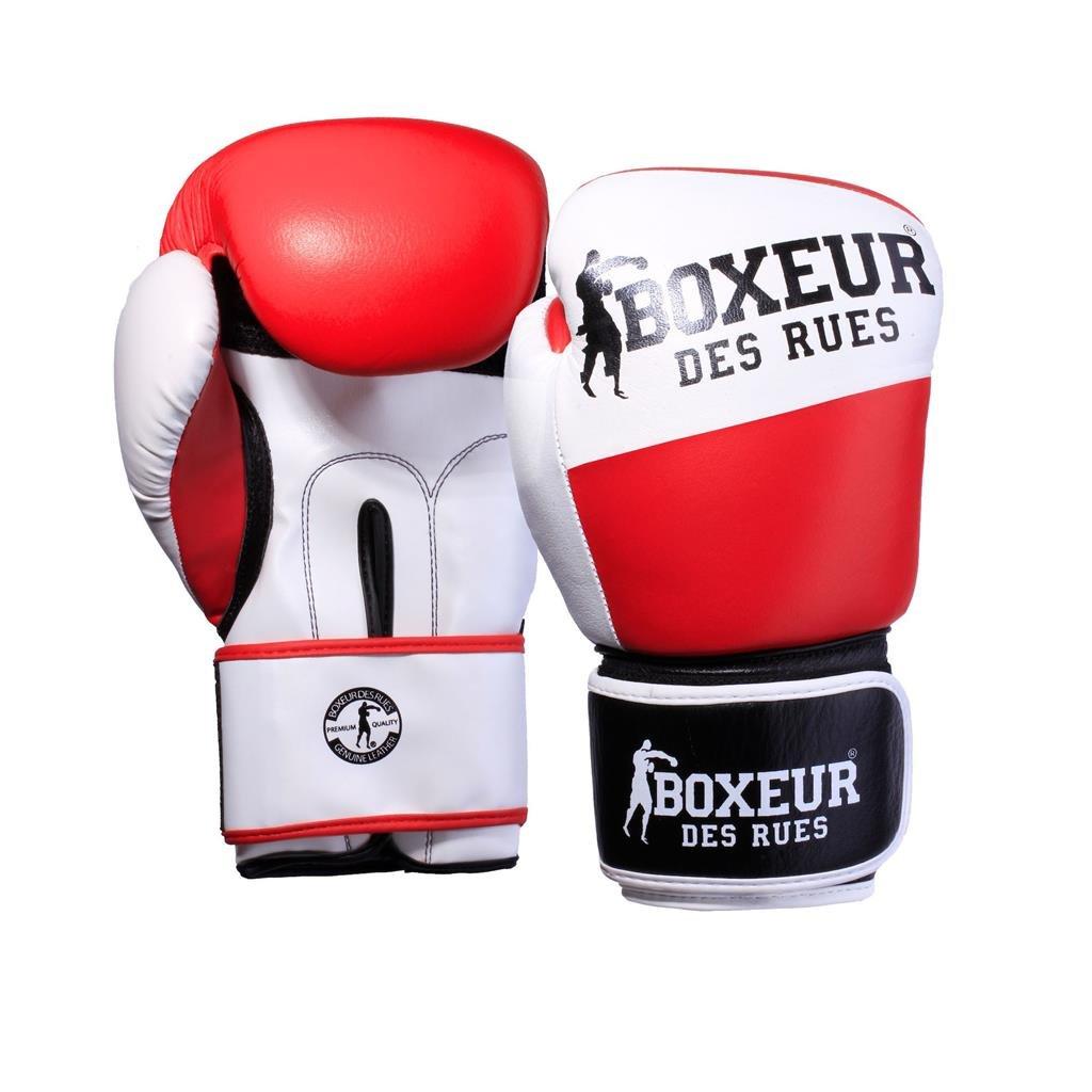 Erwachsene Bxt-591 Premium-Boxhandschuh aus Leder BOXEUR DES RUES Unisex/