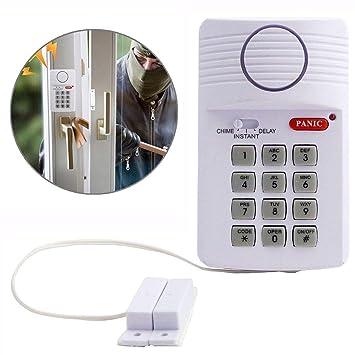 Wallfire Alarma infrarroja de Bell de la Puerta inalámbrica para ...